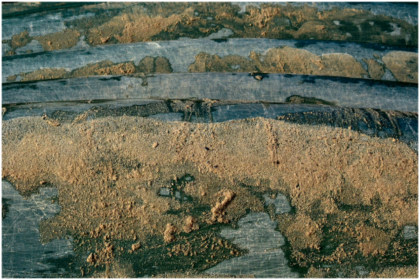 Layered sandscape