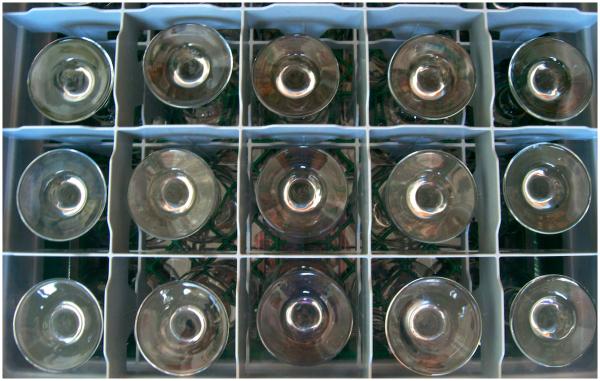 Fifteen glasses