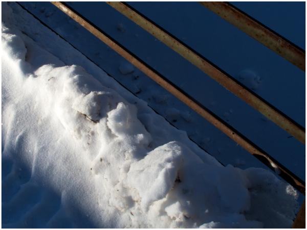 Snow on Eagle Bridge