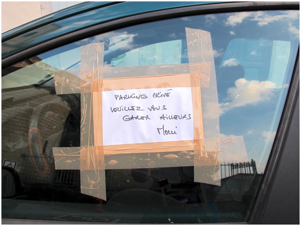 Gentle parking reminder