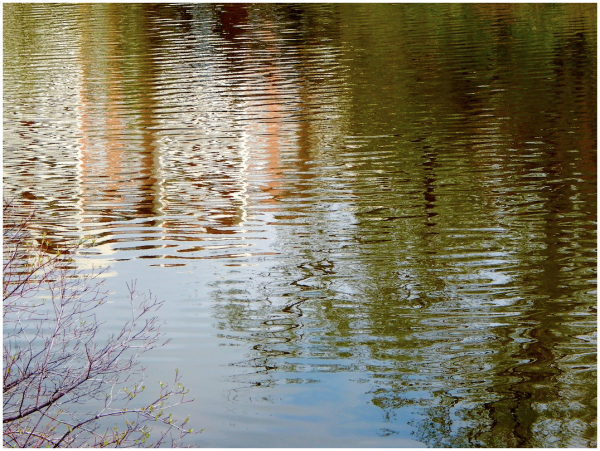 Rippled lake