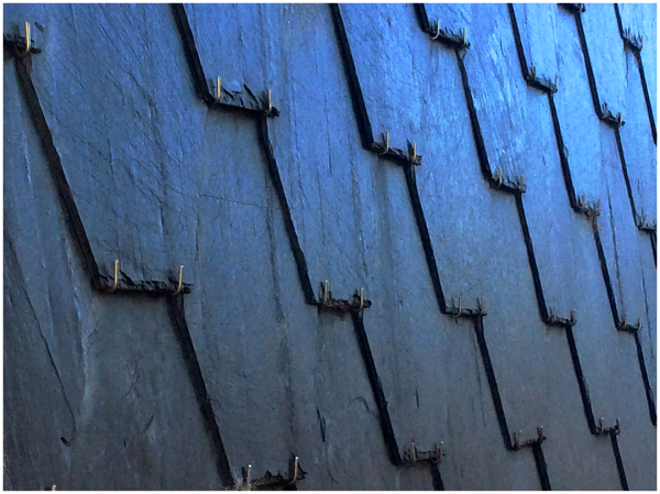 Slate roof attachments