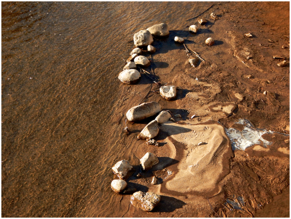 Creek rocks
