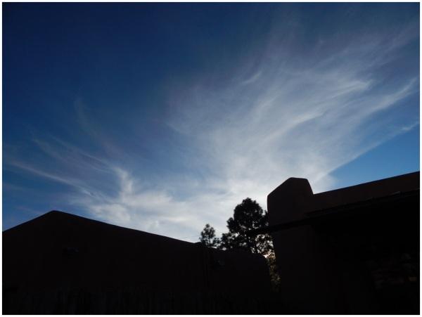 Santa Fe skies