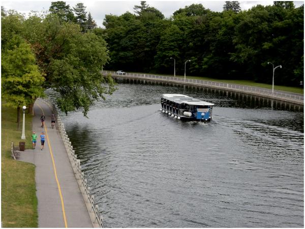 Walk, Bike, Float, Drive