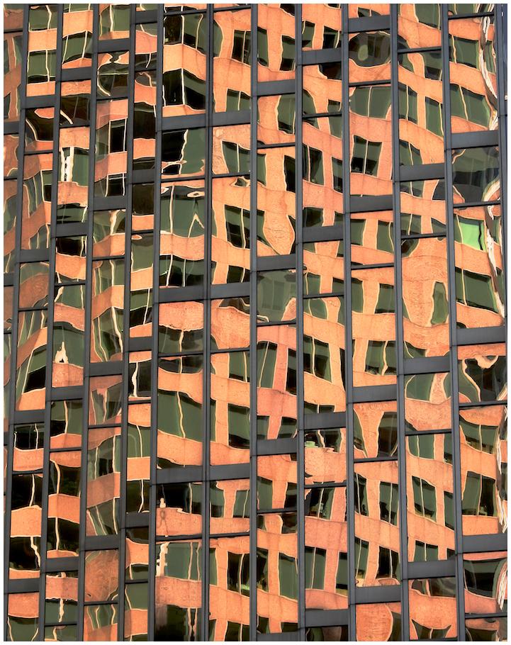 Crazy city reflections