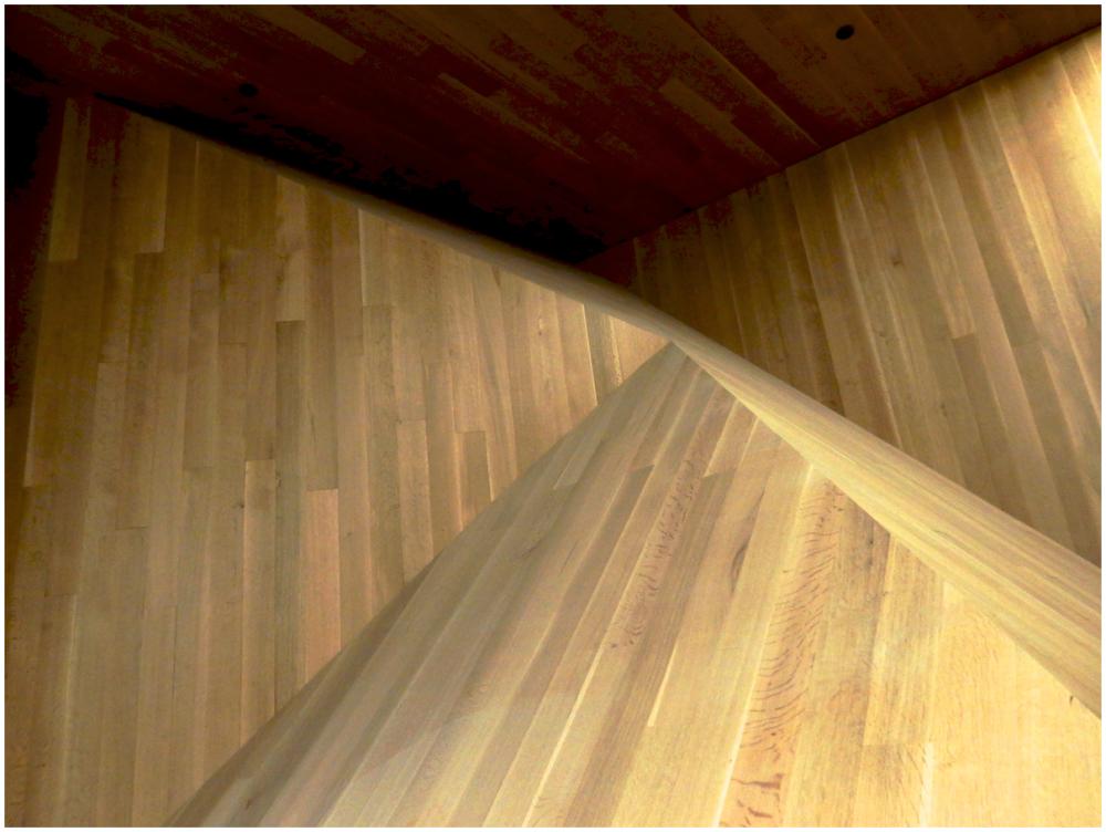 Stairwell corner