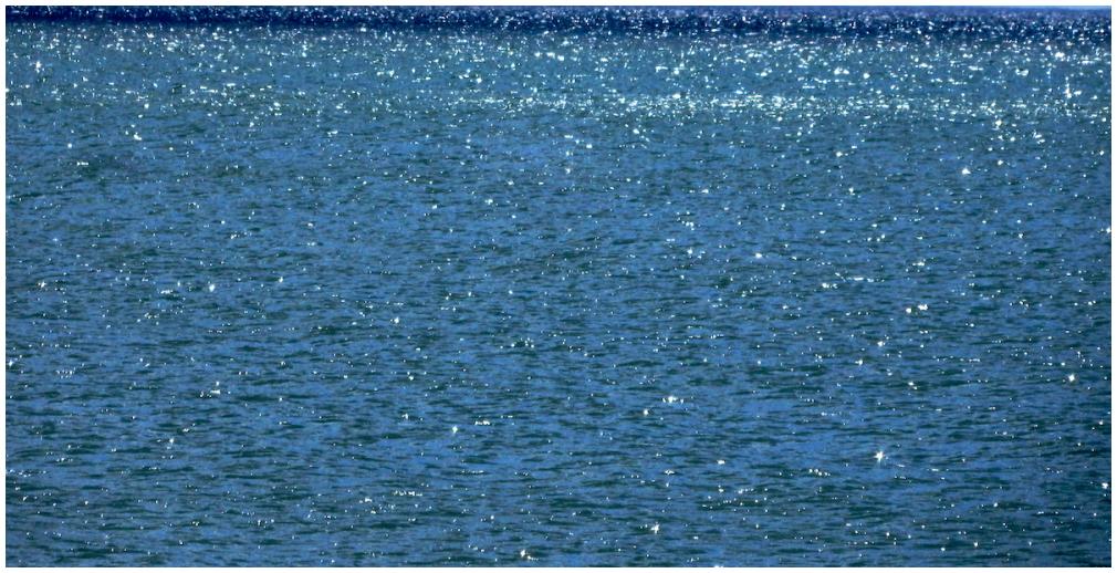 Sparkly Lake Ontario