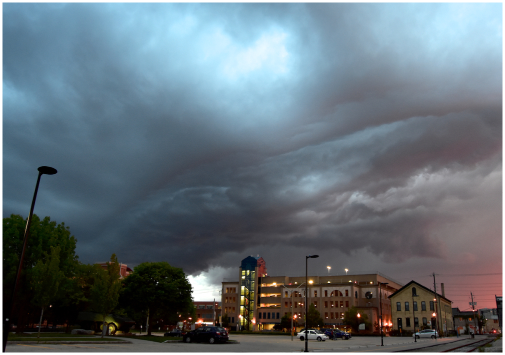 Storm clouds over Waterloo