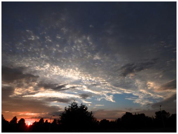 Sunset in Belleville