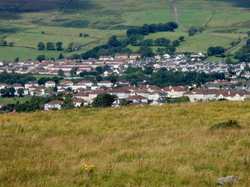 View from Croy Hill, Scotland