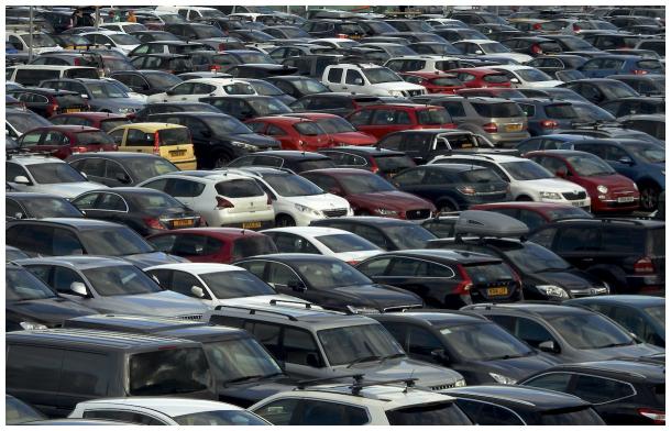 Scottish parking lot