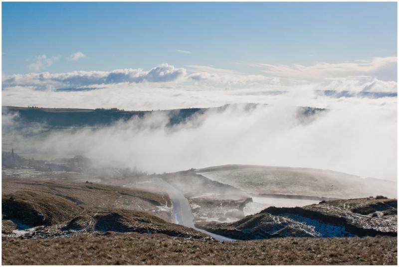 Mist in Sabden Valley