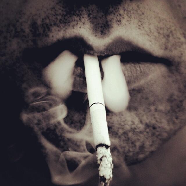smokeing....
