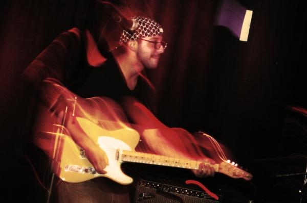 Friend on Guitar