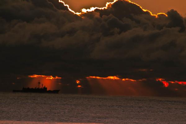 Behind the Black Cloud.....