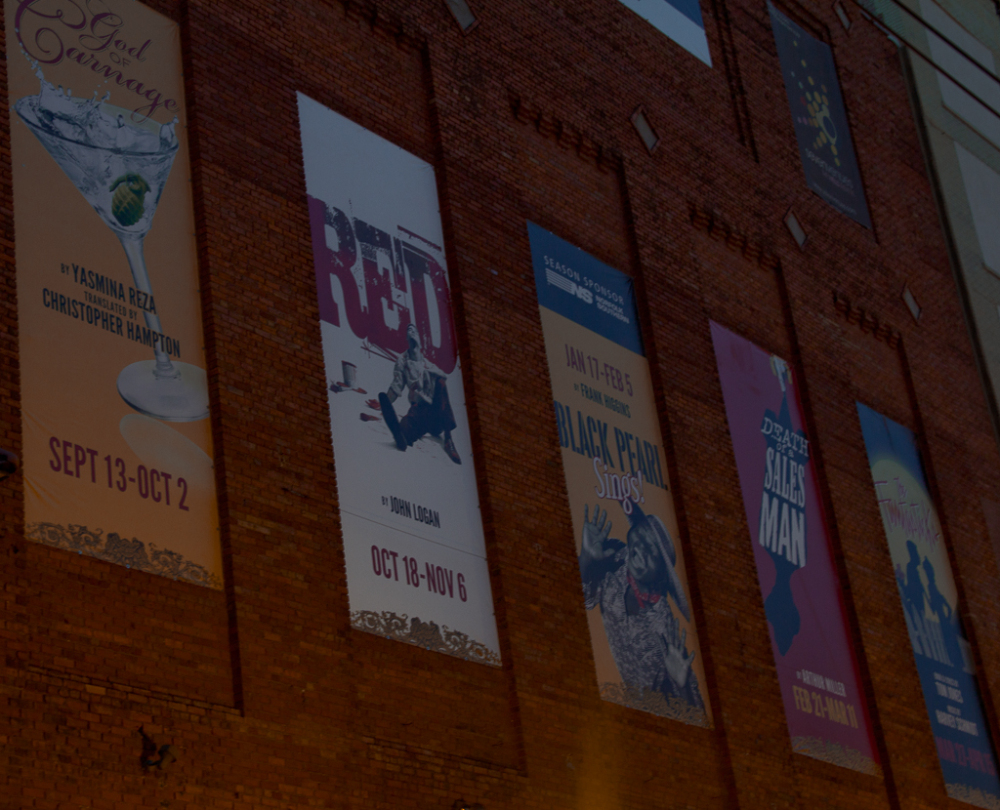wall of Virginia Stage company