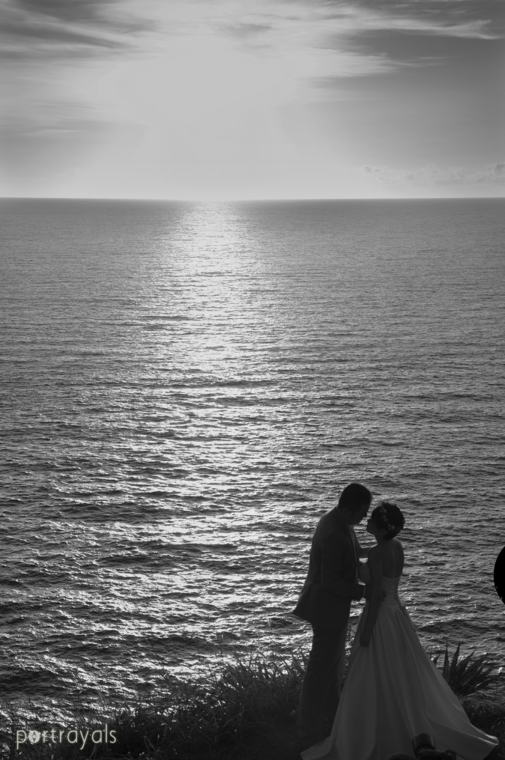 Sunset Couple at Phuket Thailand
