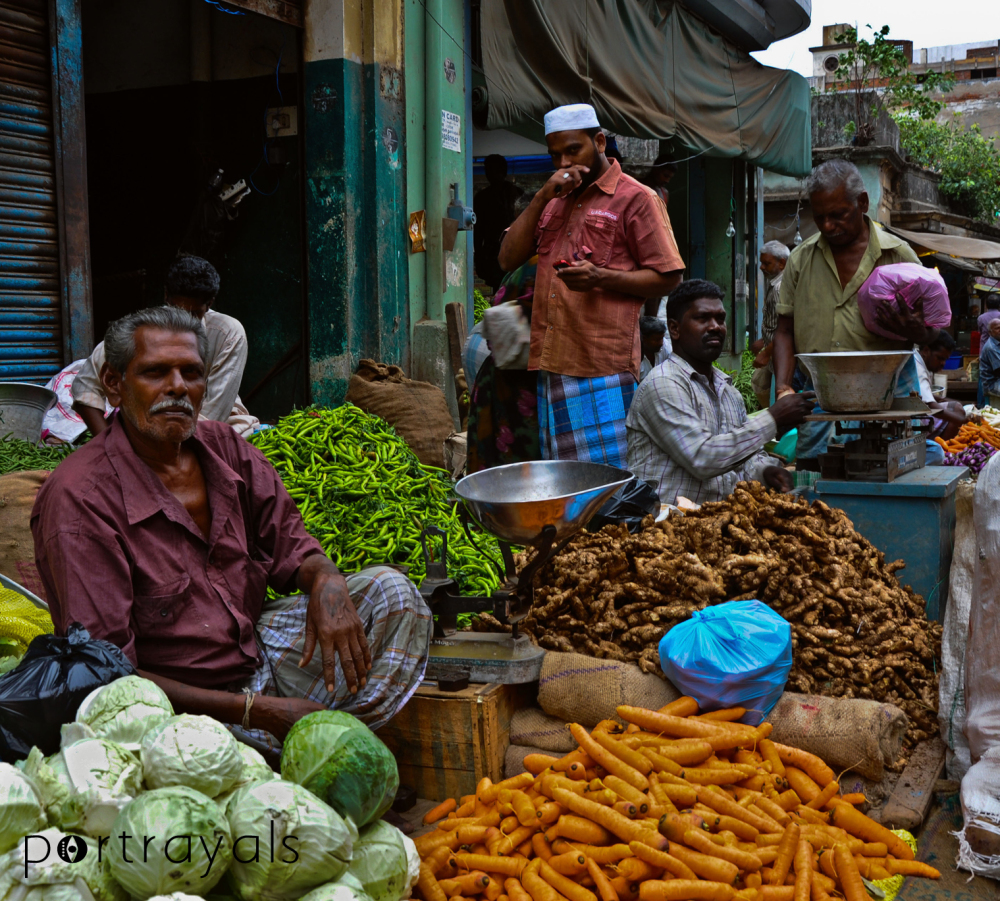 Streets of Parrys - Vegetable market