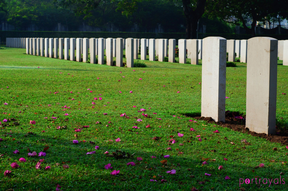 war cemetery Chennai