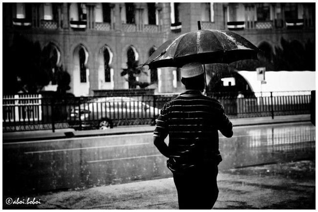 Raining man