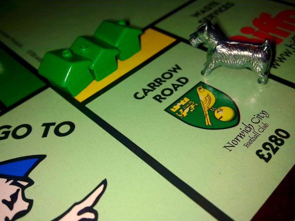 Carrow Road: Norwich Monopoly