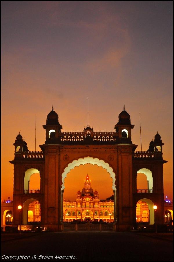 Mysore Palace Gateway