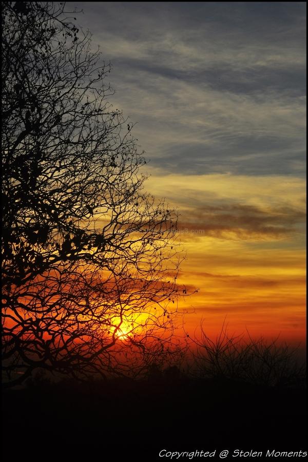 Sunrise At Chamundi hills
