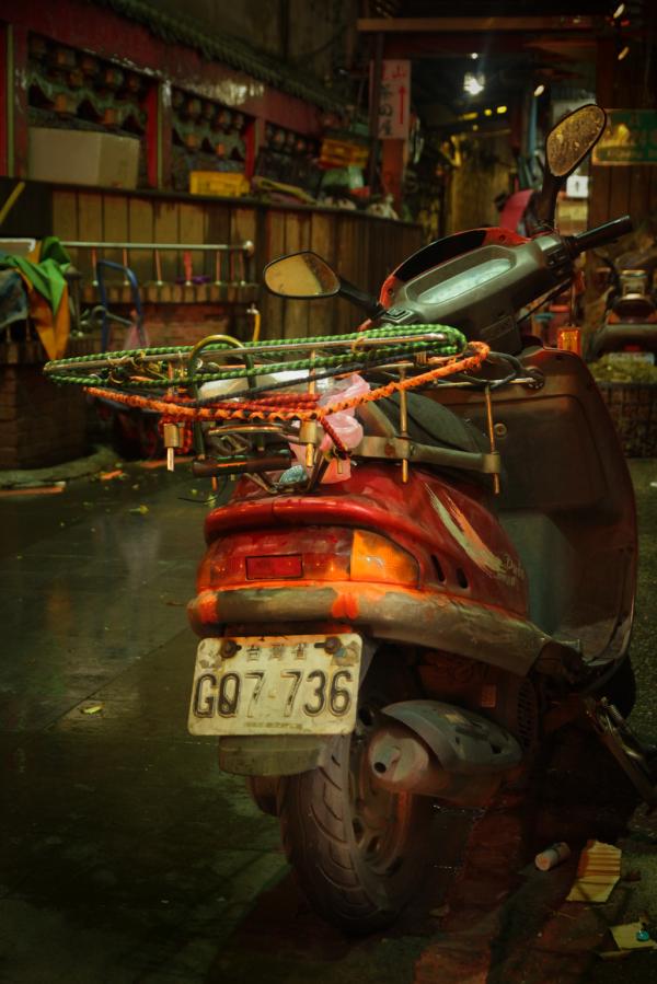 Motorbike in Taipei
