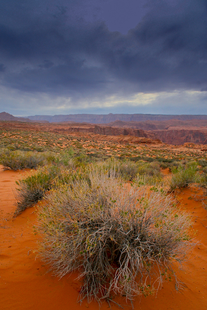 Area right outside Antelope canyon