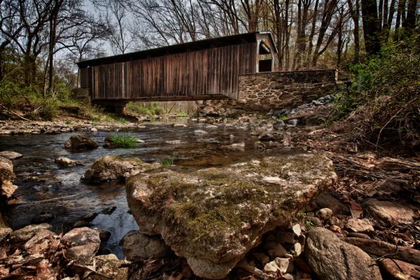 Covered Bridge in Southeastern PA