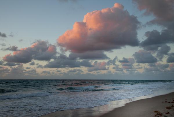 Sunrise on Del Ray Beach FL