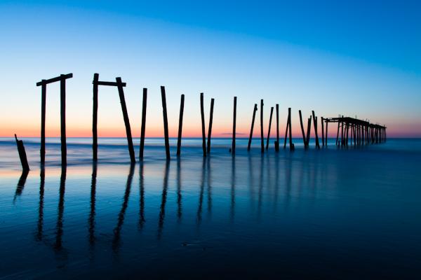 Sunrise in Ocean City NJ