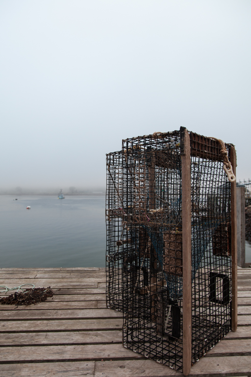 New lobster pots waiting to be used