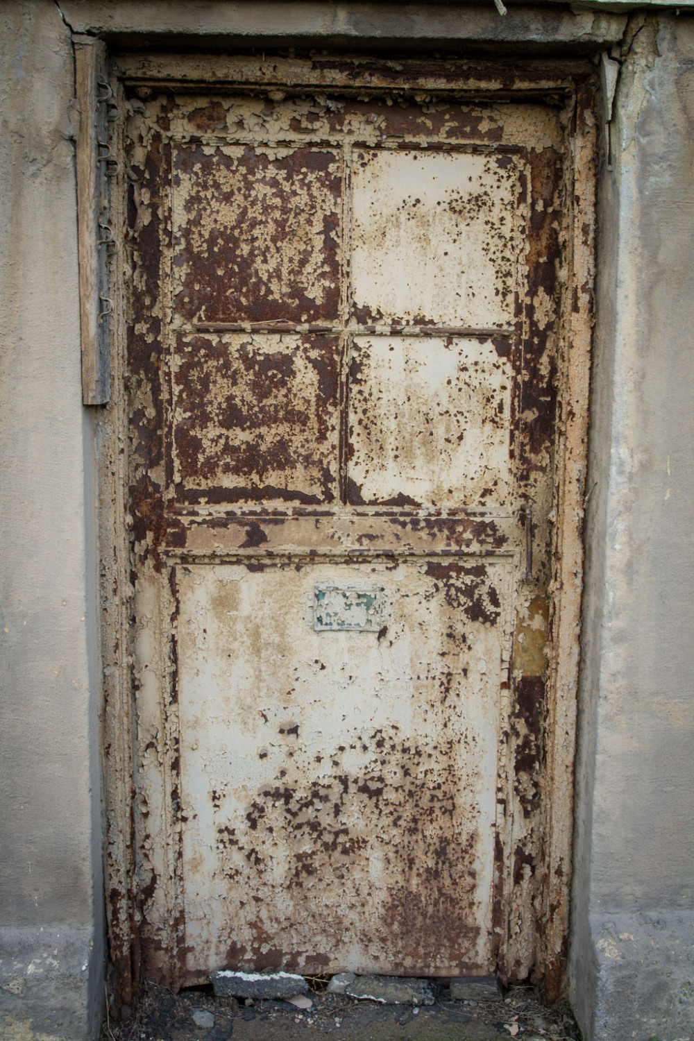 Old rusted door in PNSY