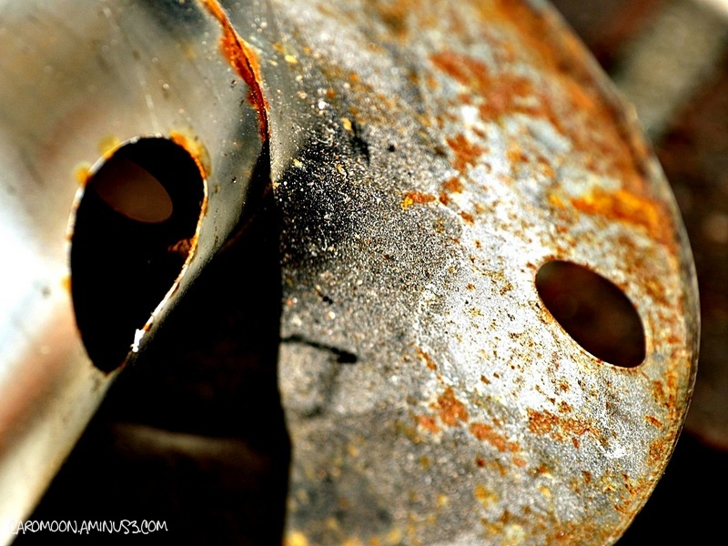rusted