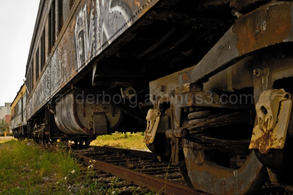 Abandoned Rail Cars