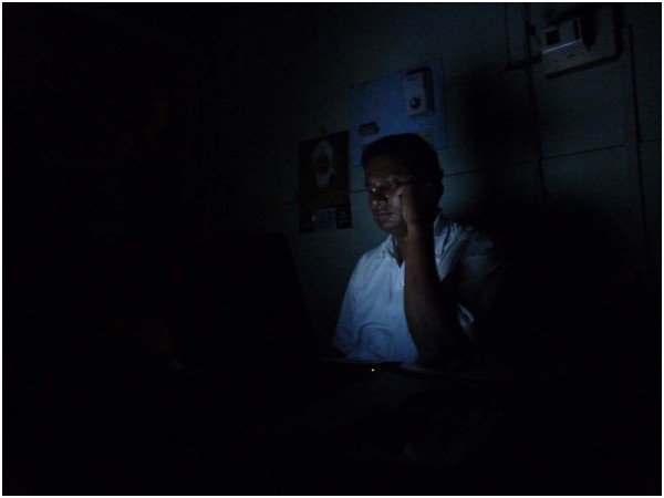 I'm in the dark