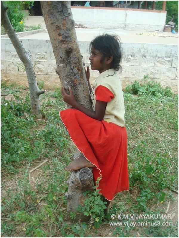 A village girl