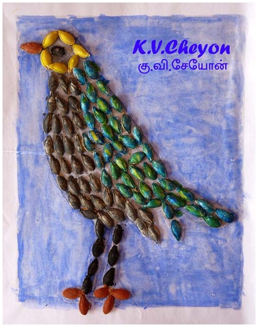My son k.v.cheyon Creativity