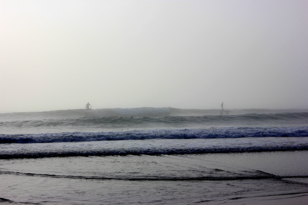 fog surfing