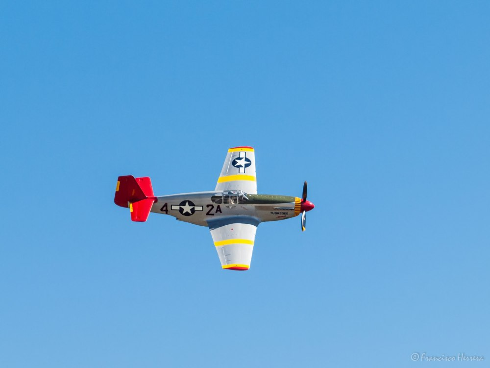 North American P-51 Mustang - The CAF Red Tail Squ