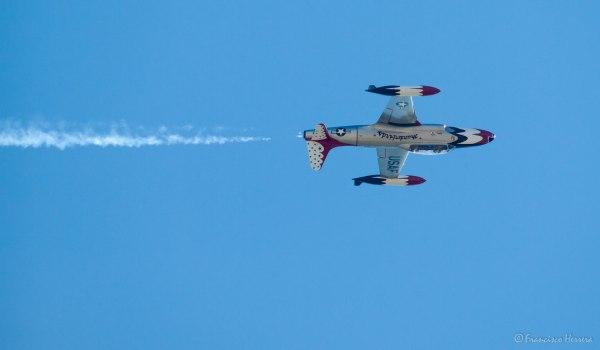 Vintage Thunderbird - Lockheed T-33 Shooting Star