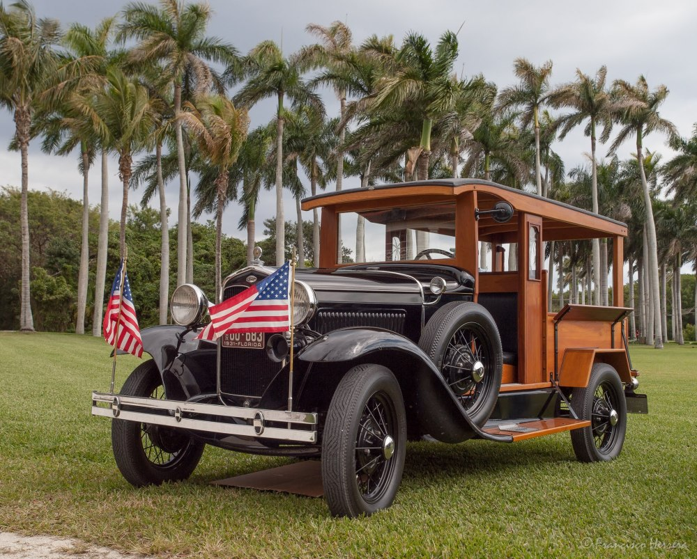 1931 Ford Huckster Model A