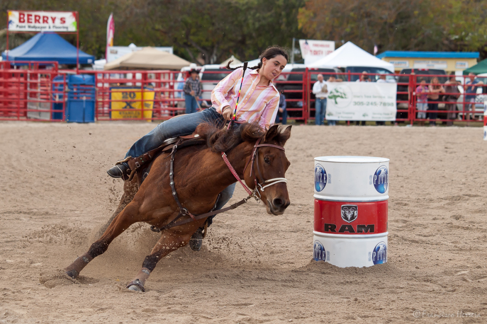 Barrel Racing, Homestead Rodeo