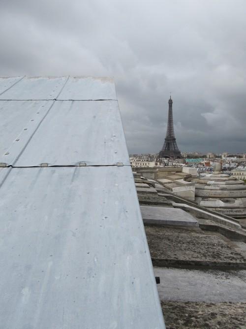 Sur les toits de Paris - On the roofs of Paris