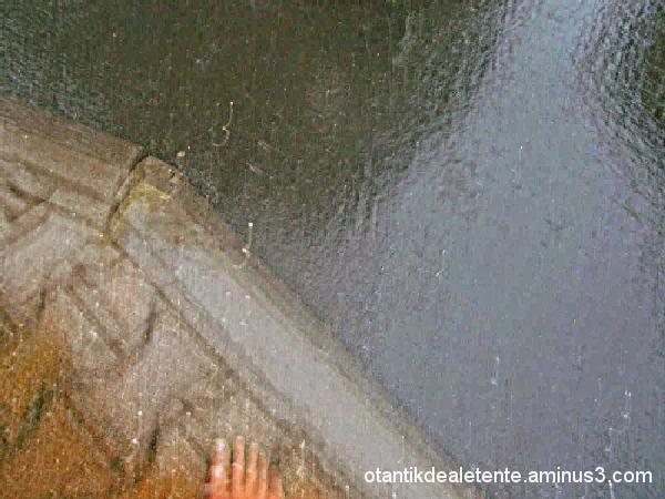 rideau grêle et pluie