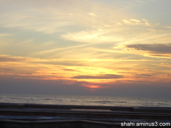 Sun rise - 1 طلوع خورشید