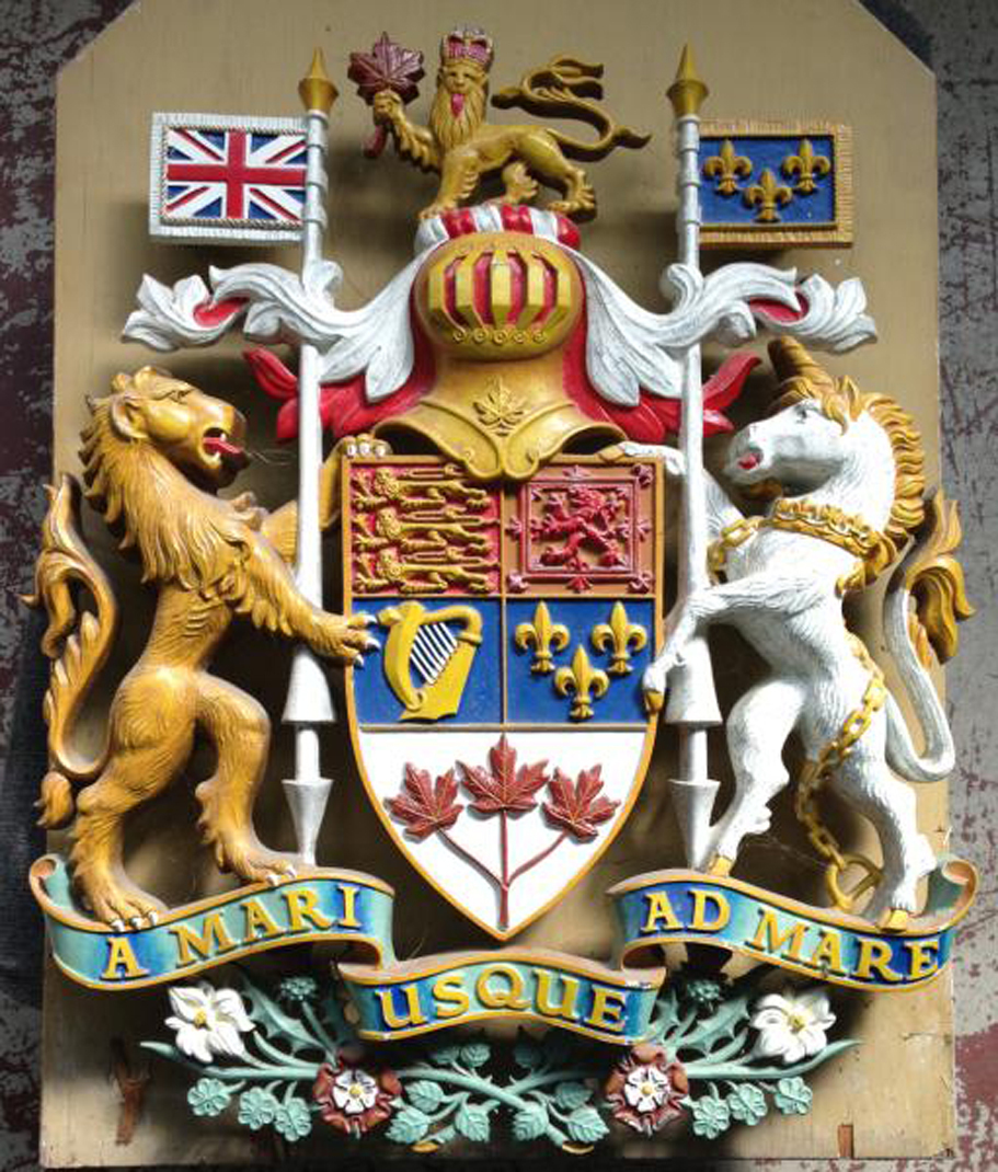 COAT OF ARMS FOR CANADA