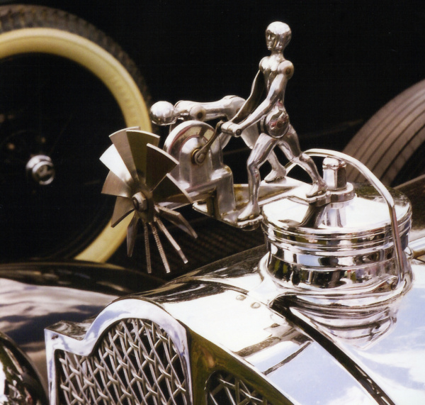 The Action Twins Hood Ornament Is Pure Magic